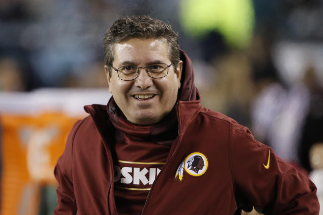 Dan Snyder wants a new stadium in D.C. (AP Photo/Matt Rourke)