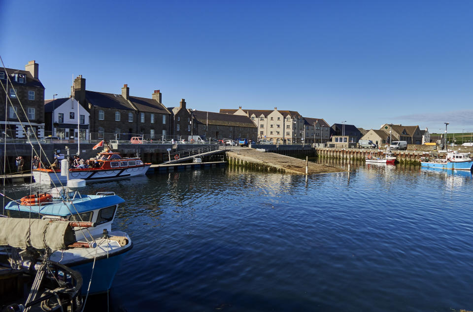 Kirkwall, Orkney's largest town, has a population of approximately 9,000. (Getty Creative)