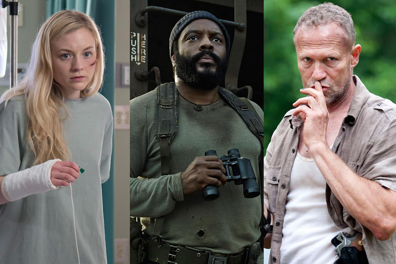 <p>a. Beth<br />b. Tyreese<br />c. Merle<br /><br />(Photo: AMC) </p>