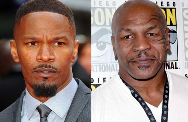 Jamie Foxx Says Mike Tyson Biopic Moving Forward, Has Bulked-Up Selfies to Prove It (Photos)