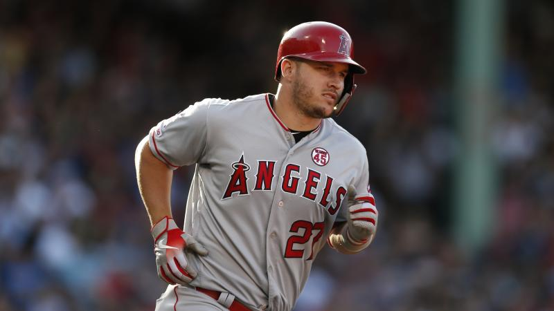Mike Trout sits atop another baseball list. (AP Photo/Michael Dwyer)
