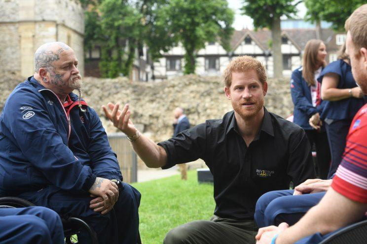 LONDON, UNITED KINGDOM - MAY 30: Prince Harry attends the launch of the team selected to represent the UK in the 2017 Invictus Games in Toronto at The Tower of London, on May 30, 2017 in London, England. (Photo by Jeremy Selwyn - WPA Pool/Getty Images)
