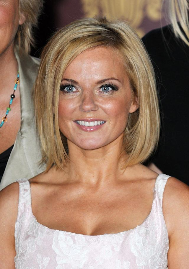 LONDON, UNITED KINGDOM - JUNE 26: Geri Halliwell attends launch of new musical based on the Spice Girls' music at St Pancras Renaissance Hotel on June 26, 2012 in London, England. (Photo by Dave Hogan/Getty Images)