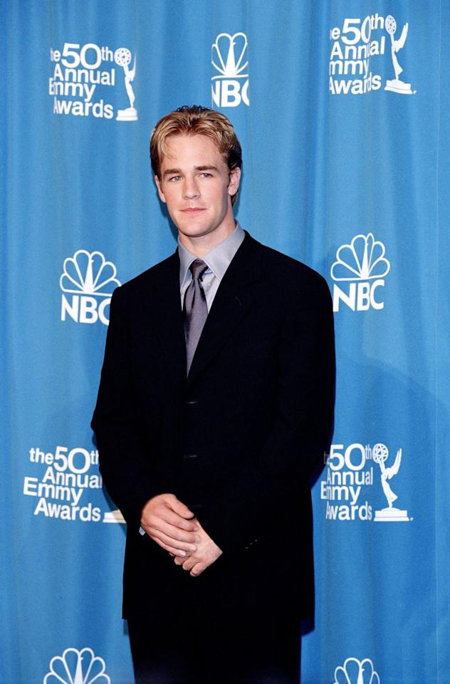 <p><em></em>As you're probably well aware, James played Dawson on <em>Dawson's Creek—</em>as in, *the* teen drama series from the '90s. So you can bet that many a teenage girl had posters of his face all over their bedroom walls. </p>