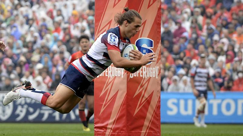 The Rebels have denied the Sunwolves their first Super Rugby win with a 35-9 victory in Tokyo.