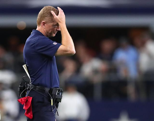 Things only seem to be getting harder for Jason Garrett and the Cowboys. (Getty)