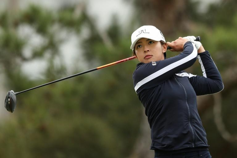 Tiffany Chan of Hong Kong on her way to a career-high eighth place at the LA Open last weekend