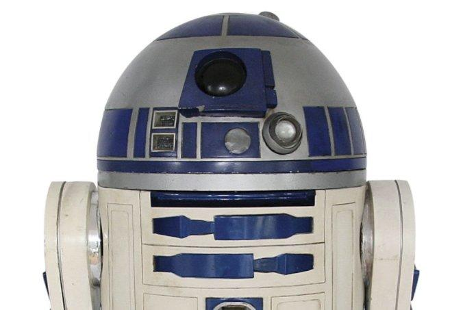 R2-D2 prop from 'Star Wars' fetches a healthy price