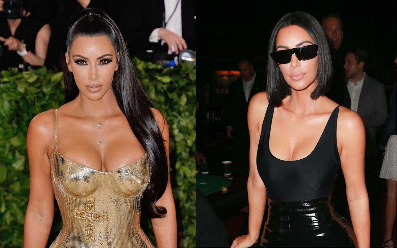 <p><strong>When:</strong> 29 July 2018<br />Kim Kardashian is renowned for her poker straight locks but when the reality television star revealed her 'mum' bob via Snapchat – fans couldn't get enough. Hands up, who else is tempted to take a snap of the hairdresser's? <em>[Photo: Getty]</em> </p>