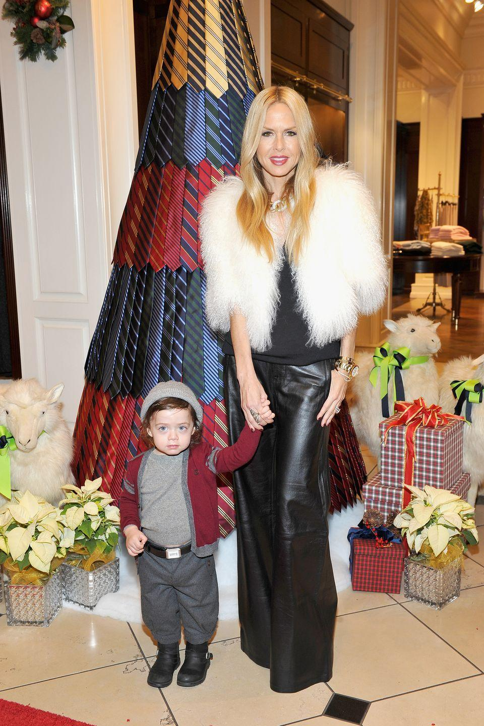 "<p>In 2013, Rachel Zoe was 42 years old when she announced that she and husband Rodger Berman were pregnant with their second child, Kaius. In a 2013 interview with <a href=""http://www.sheknows.com/parenting/articles/993087/rachel-zoe-on-skyler-having-more-kids-and-mom-fashion"" rel=""nofollow noopener"" target=""_blank"" data-ylk=""slk:She Knows"" class=""link rapid-noclick-resp""><em>She Knows</em></a>, Zoe revealed that her first son Skyler, who Zoe had when she was 39, was unplanned. </p><p>""It just happened,"" she said. ""It was the best thing that has ever happened to me and Rodger unquestionably, and we just stare at him and love him more every second of the day, if that is even possible."" </p><p>Before Kaius, Zoe explained that she was unsure if she would be able to get pregnant again. ""If we are lucky enough to have another one, we will have another one,"" she explained to <em>She Knows</em>. ""I think we are so blessed with Sky and [if] that is all we are supposed to have, then that is OK too.""</p>"
