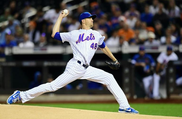 New York Mets pitcher Jacob deGrom has won Major League Baseball's Cy Young Award for a second straight year