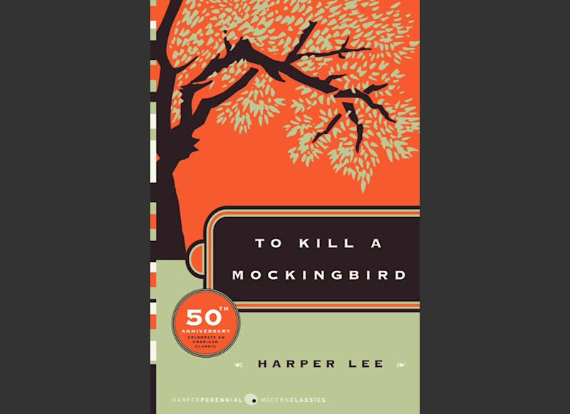 """This photo provided by HarperCollins Publishers shows the cover of """"To Kill A Mockingbird."""" """"To Kill a Mockingbird"""" will be made available as an e-book and digital audiobook in July 2014, filling one of the biggest gaps in the electronic library. Author Harper Lee said in a rare public statement Monday, April 28, 2014, issued through HarperCollins Publishers, that while she still favored """"dusty"""" books she had signed on for making """"Mockingbird"""" available to a """"new generation."""" (AP Photo/HarperCollins Publishers)"""