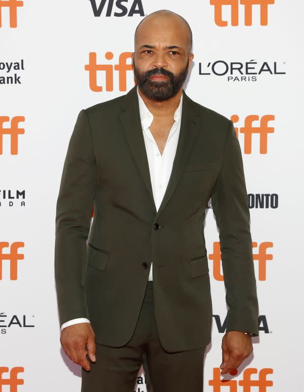 FILE PHOTO: Wright arrives for the premiere of Hold the Dark at the Toronto International Film Festival in Toronto