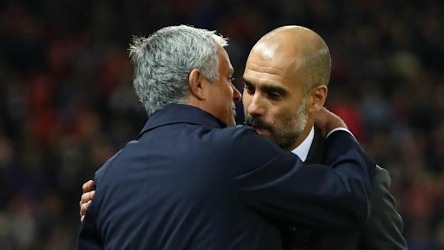 Manchester City boss Pep Guardiola is refusing to revel in the struggles of rivals Manchester United and old foe Jose Mourinho.