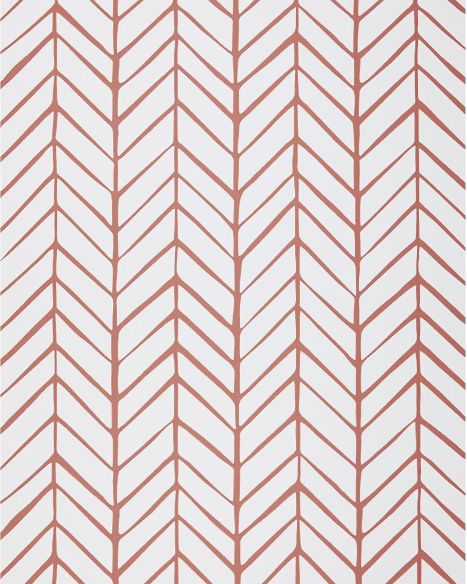 """Serena & Lily has tons of unique wallpaper offerings. Most are coastal-inspired, and come in hues of blue, green, gray, and beige. Not sure which wallpaper to choose? The brand will send you up to 10 swatches for free. This chevron wallpaper is a great find that's both graphic <em>and</em> organic. $98, Serena & Lily. <a href=""""https://www.serenaandlily.com/feather-wallpaper/m10367.html"""" rel=""""nofollow noopener"""" target=""""_blank"""" data-ylk=""""slk:Get it now!"""" class=""""link rapid-noclick-resp"""">Get it now!</a>"""