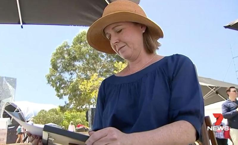 Heather Moore lost her husband to melanoma when he was just 47. Source: 7 News