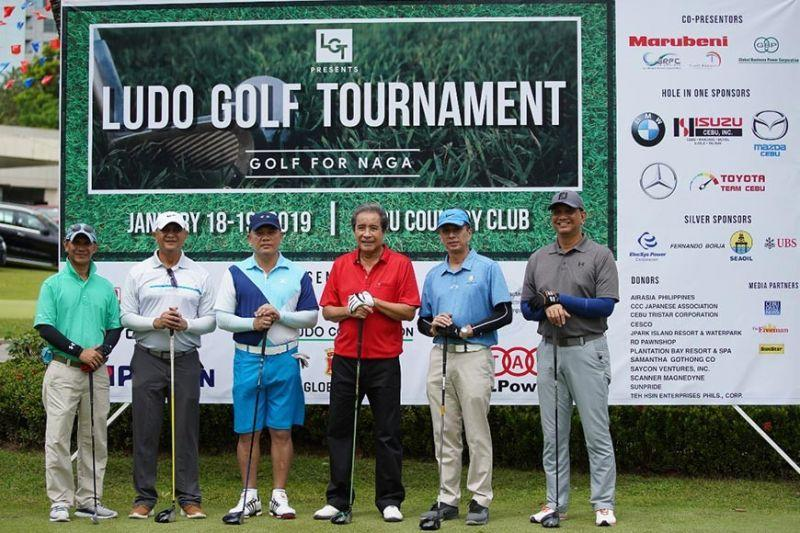 250 join Ludo charity golf event