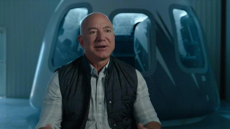 Amazon founder Jeff Bezos says he'll go into space in July on Blue Origin flight