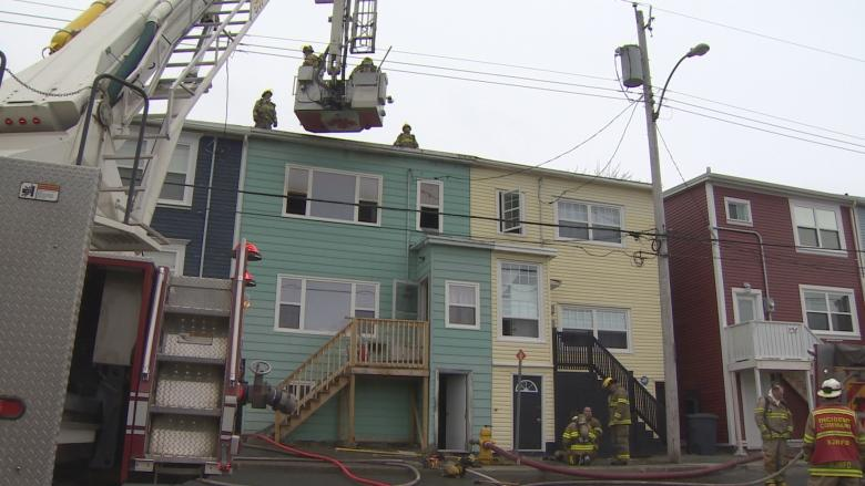 Homes evacuated in Monroe Street fire, pets rescued