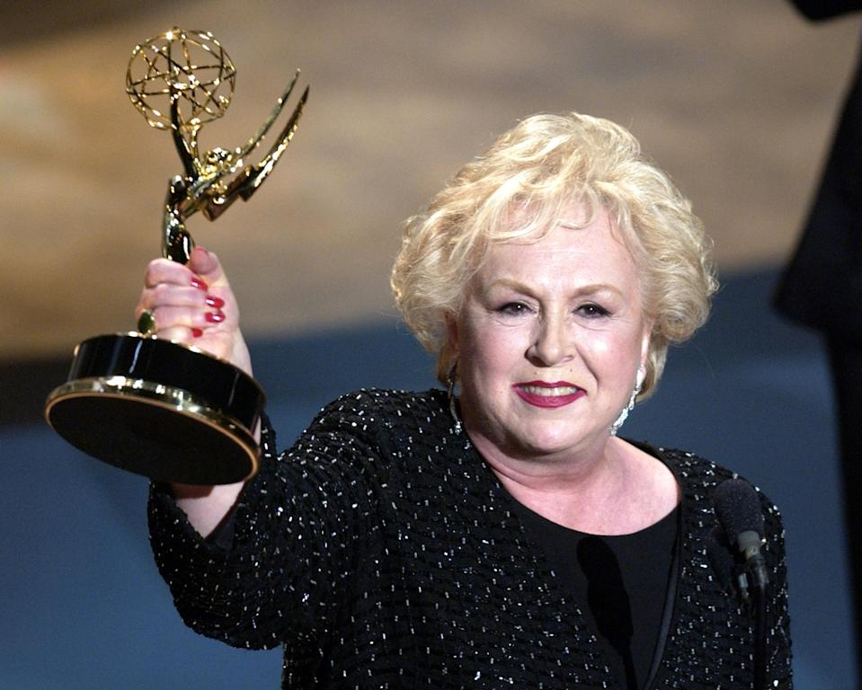 <p>Doris Roberts, star on 'Everybody Loves Raymond' died on April 17, 2016 at 90 from a stroke in her sleep. Photo from Getty Images </p>