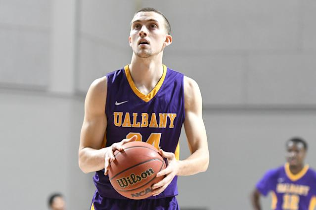 "<a class=""link rapid-noclick-resp"" href=""/ncaab/players/131462/"" data-ylk=""slk:Joe Cremo"">Joe Cremo</a> announced he will transfer to Villanova on Tuesday. (Getty)"