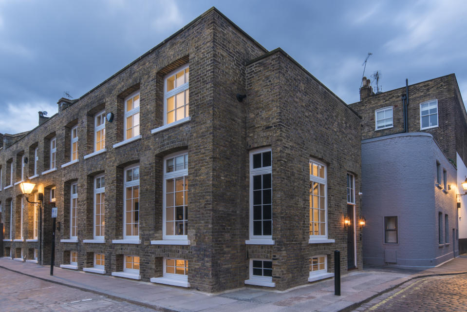 Ellie Goulding's house is situated on Oldbury Place, a cobbled mews off London's Marylebone High Street. Photo: Aston Chase t