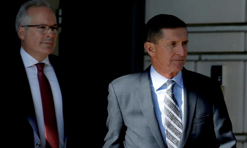 The former national security adviser Michael Flynn is due to be sentenced on Tuesday after pleading guilty to lying to the FBI.