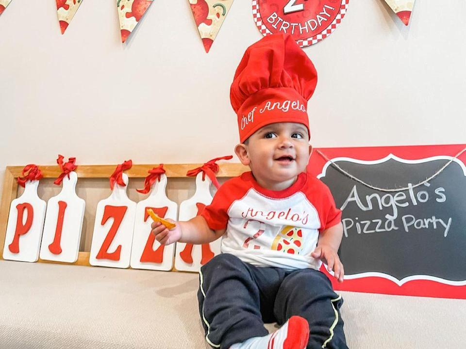 """<p>Nicole """"Snooki"""" Polizzi's son <a href=""""https://people.com/parents/snooki-nicole-polizzi-welcomes-son-angelo-james-photos-jionni-lavalle-exclusive/"""" rel=""""nofollow noopener"""" target=""""_blank"""" data-ylk=""""slk:Angelo James"""" class=""""link rapid-noclick-resp"""">Angelo James</a> turned 2 on May 30.</p>"""