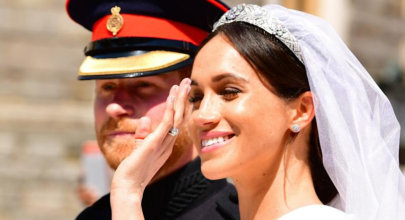 The facialist behind Meghan Markle's glowing wedding skin has revealed her go-to beauty supplement [Image: Getty]