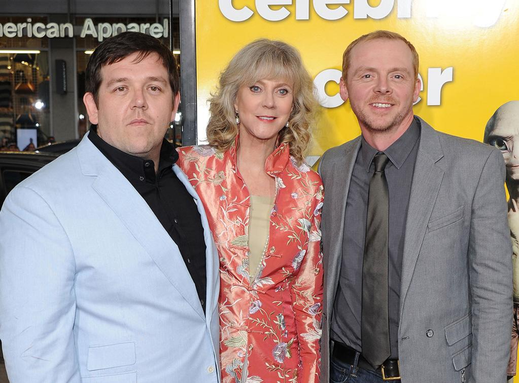 """<a href=""""http://movies.yahoo.com/movie/contributor/1807585578"""">Nick Frost</a>, <a href=""""http://movies.yahoo.com/movie/contributor/1800010706"""">Blythe Danner</a> and <a href=""""http://movies.yahoo.com/movie/contributor/1804763358"""">Simon Pegg</a> attend the Los Angeles premiere of <a href=""""http://movies.yahoo.com/movie/1810097993/info"""">Paul</a> on March 14, 2011."""