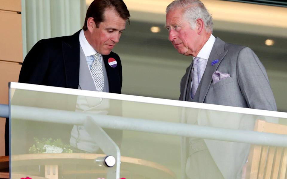 Prince Charles is Mr Elliot's uncle through his marriage to the Duchess of Cornwall