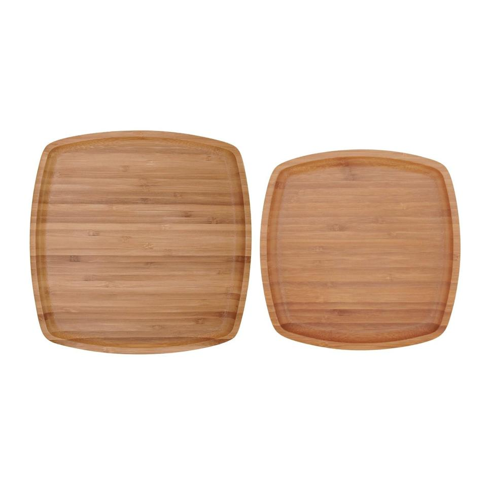 """<br><br><strong>BambooMN</strong> Reusable Bamboo Ecoware Dinnerware Plates, $, available at <a href=""""https://go.skimresources.com/?id=30283X879131&url=https%3A%2F%2Fwww.etsy.com%2Flisting%2F870829535%2Freusable-bamboo-ecoware-dinnerware%3F"""" rel=""""nofollow noopener"""" target=""""_blank"""" data-ylk=""""slk:Etsy"""" class=""""link rapid-noclick-resp"""">Etsy</a>"""