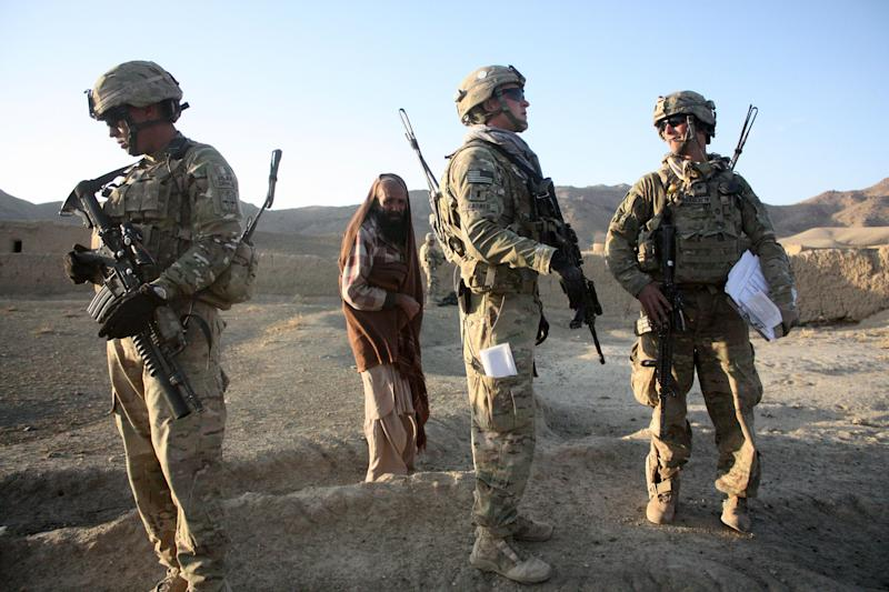 Image: Afghani And U.S. Soldiers Patrol Afghan Villages (Joshua Partlow / The Washington Post via Getty Images file)