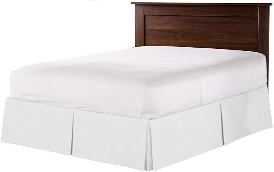 Get a new bed skirt for just $21. (Photo: Amazon)