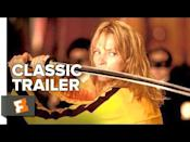 "<p>Tarantino's revenge movie starring Uma Thurman is not for the faint of heart. The Bride (Uma Thurman) is a former assassin who wakes from a coma four years after a jealous ex attempted to murder her on her wedding day, and her quest to get even makes for one of the most violent movies of all time. </p><p><a class=""link rapid-noclick-resp"" href=""https://www.hbo.com/movies/catalog.kill-bill-vol-1"" rel=""nofollow noopener"" target=""_blank"" data-ylk=""slk:Watch Now"">Watch Now</a></p><p><a href=""https://www.youtube.com/watch?v=7kSuas6mRpk "" rel=""nofollow noopener"" target=""_blank"" data-ylk=""slk:See the original post on Youtube"" class=""link rapid-noclick-resp"">See the original post on Youtube</a></p>"