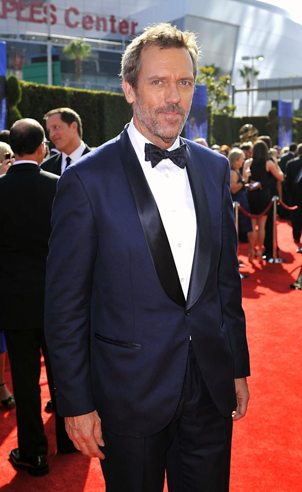 "Hugh Laurie's second novel, <i>The Paper Soldier</i>, has been indefinitely delayed due to the actor's busy schedule, but fans of the ""House"" star can find copies of his conspiracy-laced tale, <i>The Gun Seller</i>, online and in stores. Mathew Imaging/<a href=""http://www.wireimage.com"" target=""new"">WireImage.com</a> - August 29, 2010"
