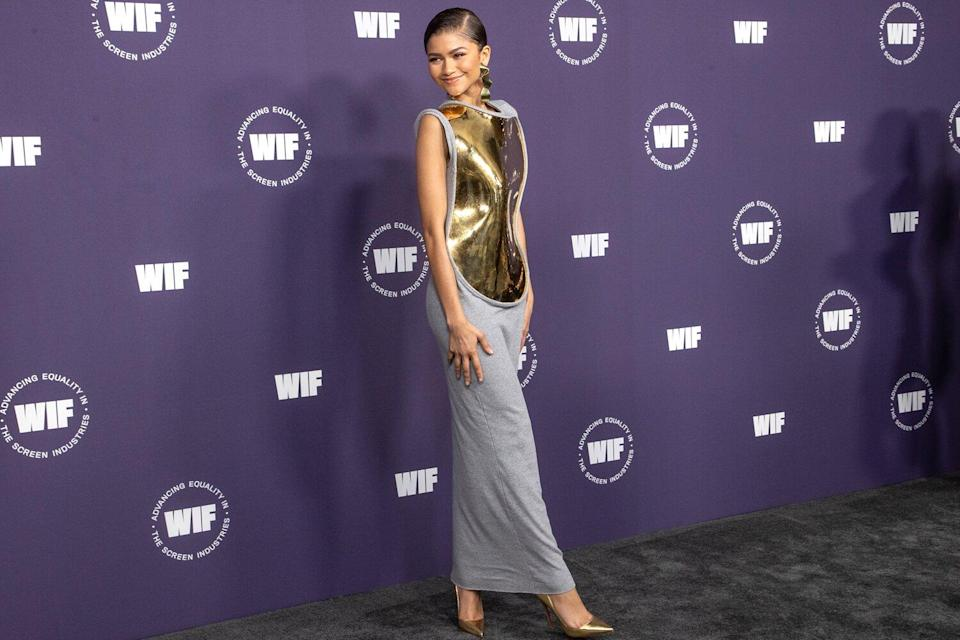 Zendaya attends the Women in Film's annual award ceremony