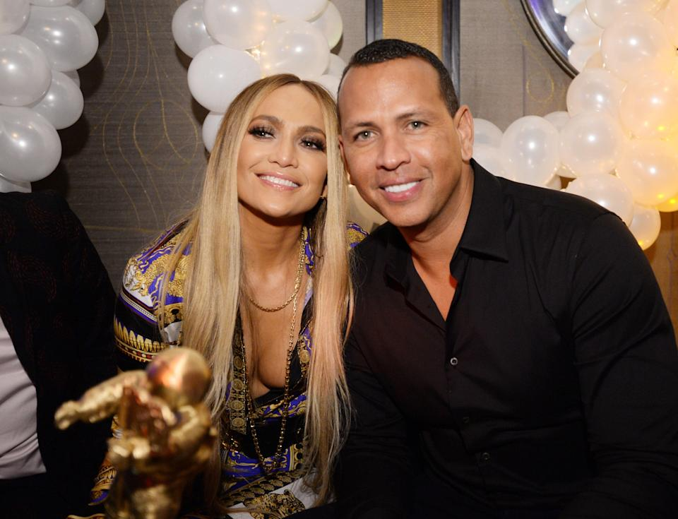 """<h1 class=""""title"""">Jennifer Lopez's MTV VMA's Vanguard Award Celebration At Beauty & Essex In NY</h1><cite class=""""credit"""">Andrew Toth/Getty Images</cite>"""