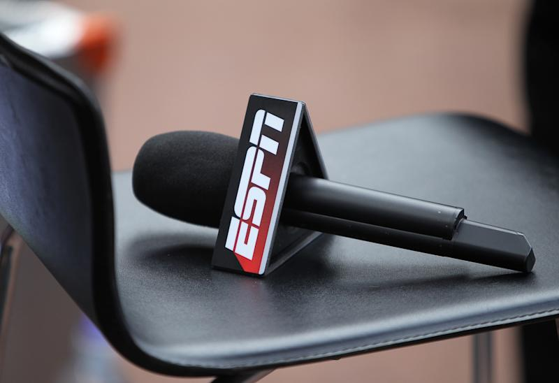 ESPN microphone (Photo by Mike Egerton - PA Images via Getty Images)