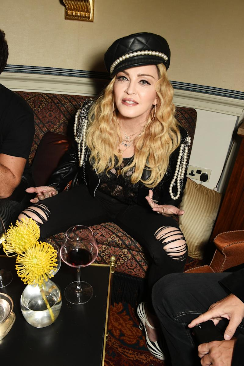 Prolific career: The film will chart Madonna's highs and lows (Dave Benett)