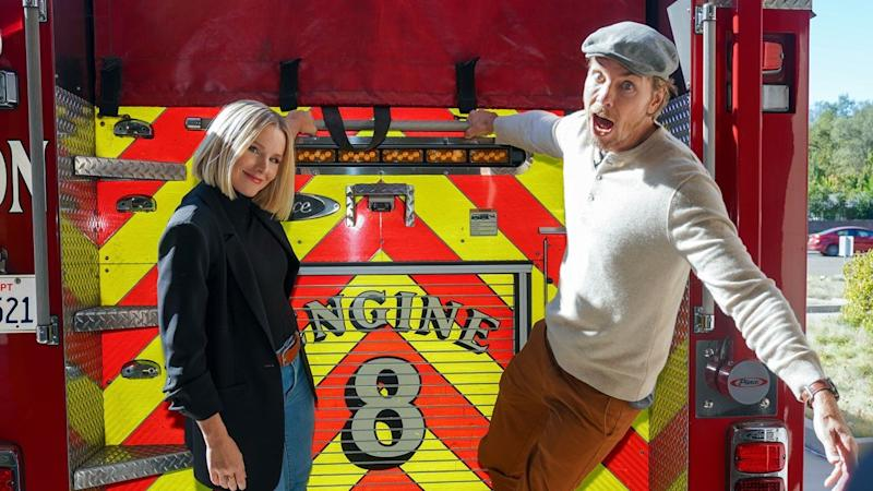 Star Sightings: Kristen Bell and Dax Shepard Surprise Firefighters, Billie Eilish Supports Her Mom and More!