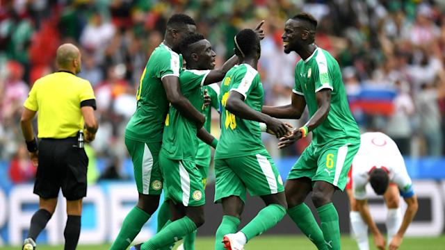 Africa finally got its first win at the 2018 World Cup courtesy of Senegal's 2-1 defeat of Poland.
