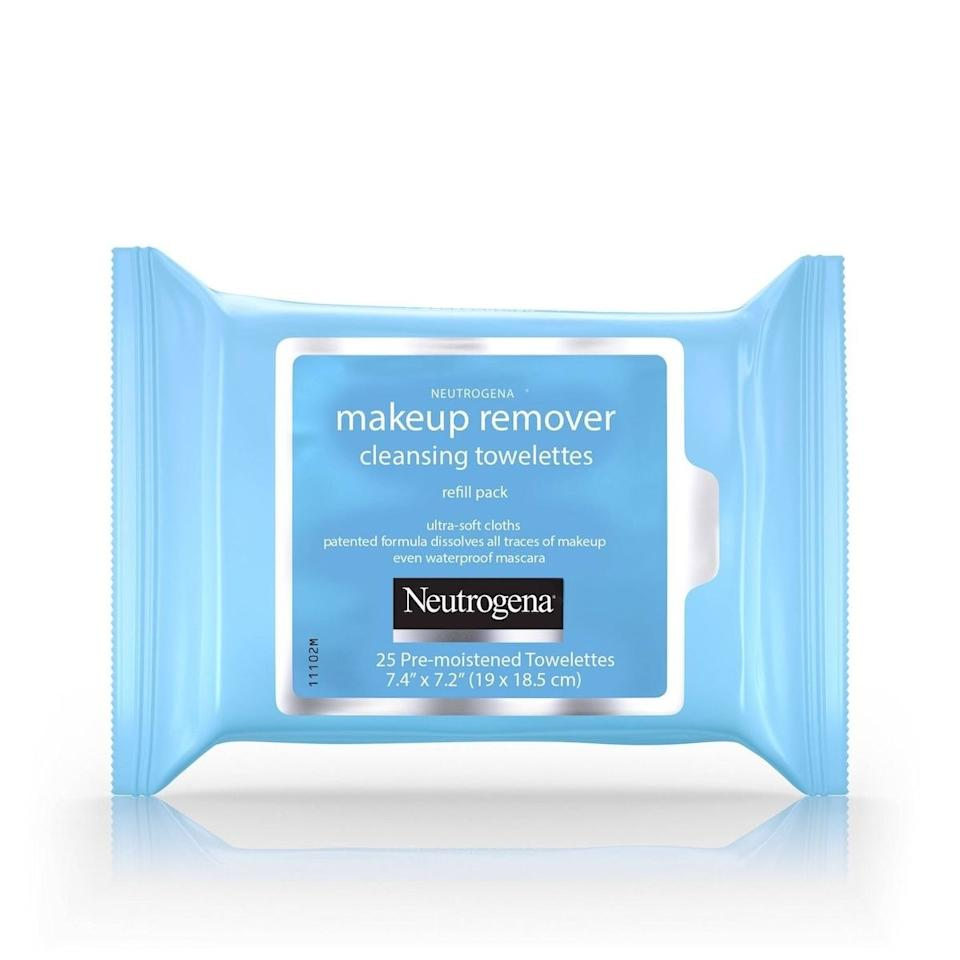 """$6.99, Target. <a href=""""https://www.target.com/p/neutrogena-makeup-remover-cleansing-towelettes-face-wipes-25ct/-/A-11536492"""">Get it now!</a>"""