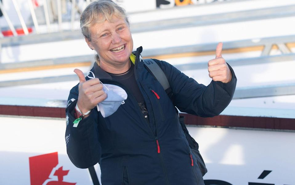 Pip Hare says the Vendee Globe race is 'full on' but is enjoying her time at sea - Shutterstock