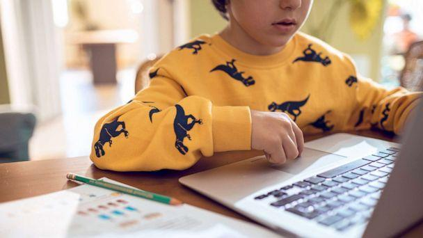 PHOTO: A boy remote learning. (STOCK PHOTO/Getty Images)