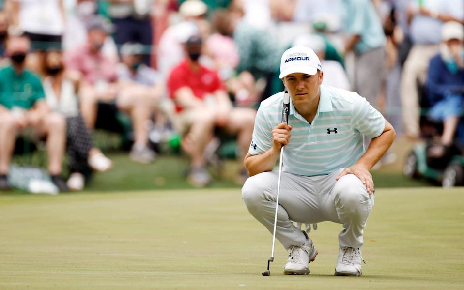 The Spieth swagger has returned at Augusta - GETTY IMAGES