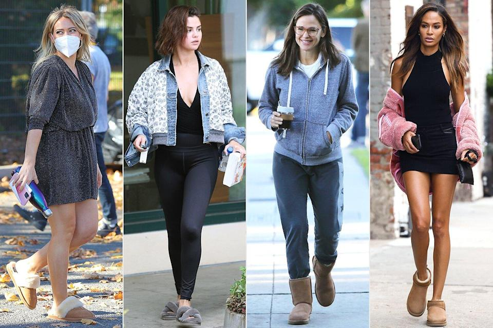 celebs in uggs