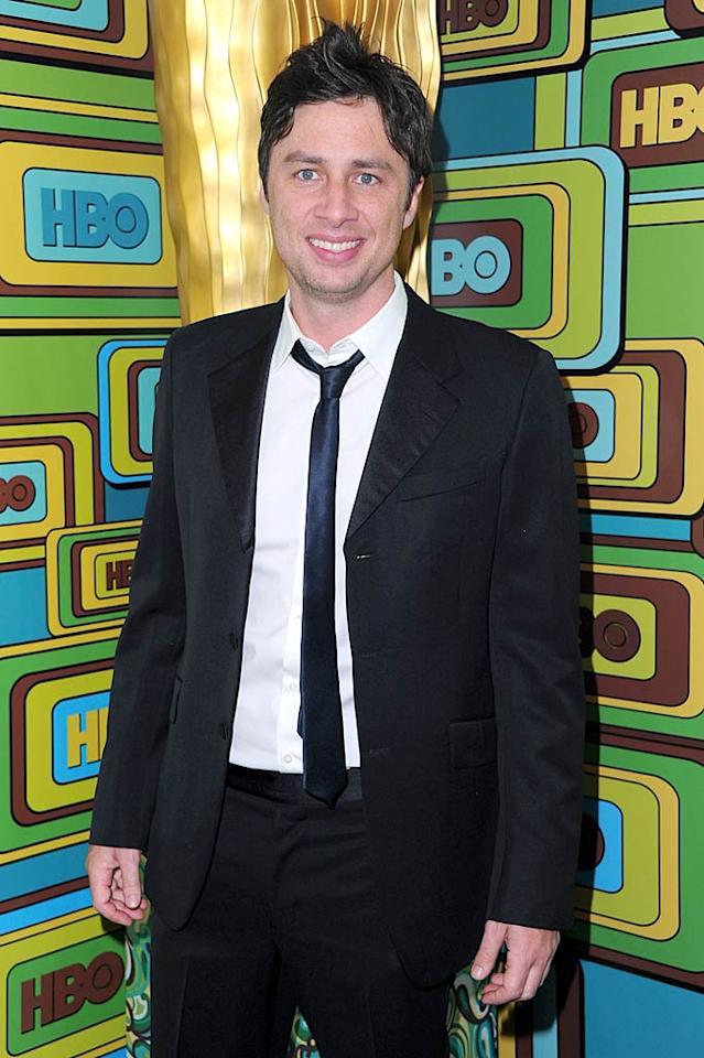 "April 6: Zach Braff turns 36 Alberto E. Rodriguez/<a href=""http://www.gettyimages.com/"" target=""new"">GettyImages.com</a> - January 16, 2011"