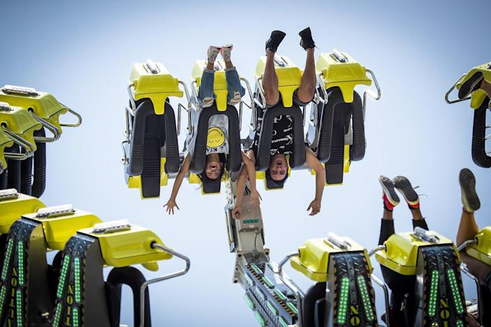 The G Force ride