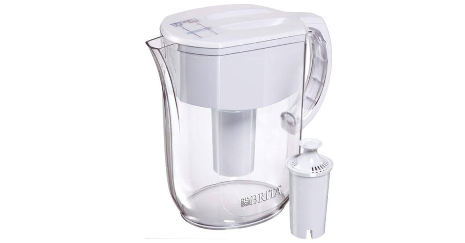 Brita Water Pitcher with 1 Filter, 10 Cup (Photo: Amazon)